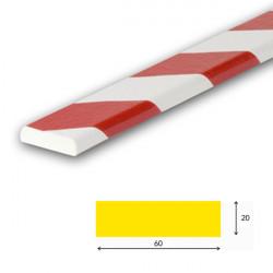 AMORTISSEURS DE CHOCS BLANC ET ROUGE SURFACE PLANE (WN01060)