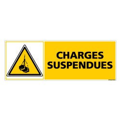 Panneau CHARGES SUSPENDUES (C0328)