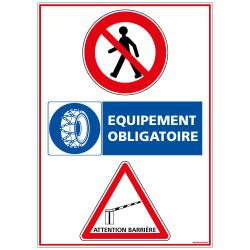 Panneau Consigne de Sécurité (A0362)