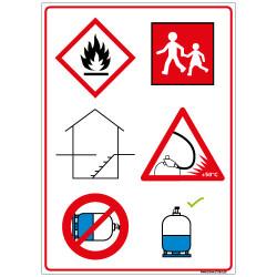 Panneau Consigne de Sécurité (A0364)