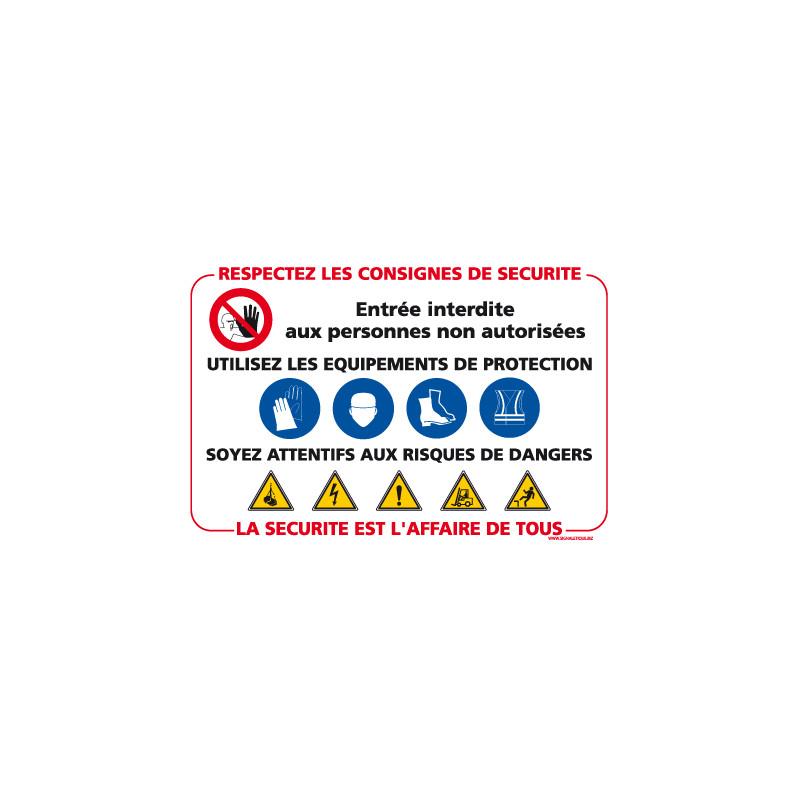 Consignes de sécurité (A0367)