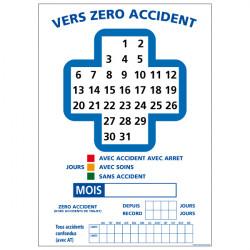 Panneau zéro accident (A0514)