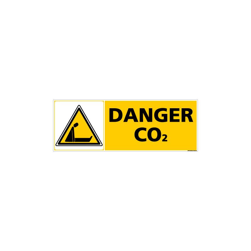 Panneau DANGER C02 (C0351)