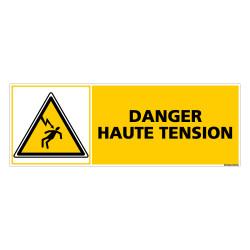 PANNEAU DANGER HAUTE TENSION (C0364)