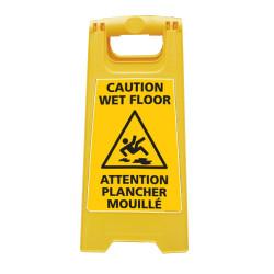 CHEVALET DE SIGNALISATION ATTENTION PLANCHER MOUILLE (WPSG687I)
