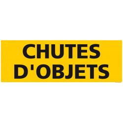 """PANNEAU DE SIGNALISATION """"CHUTES D'OBJETS"""" (C1237)"""