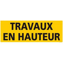 """PANNEAU DE SIGNALISATION """"TRAVAUX EN HAUTEUR"""" (C1238)"""