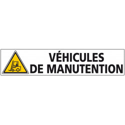 Signalisation VEHICULES DE MANUTENTION (C1240)
