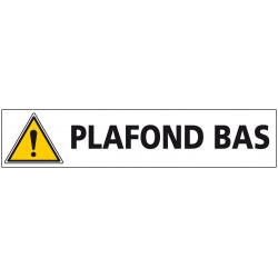 Signalisation PLAFOND BAS (C1242)