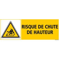 PANNEAU RISQUE DE CHUTE DE HAUTEUR (C1266)