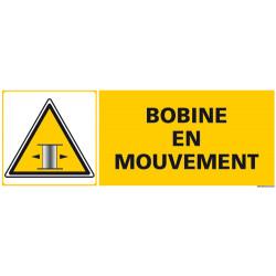 PANNEAU DE SIGNALISATION BOBINE EN MOUVEMENT (C1267)