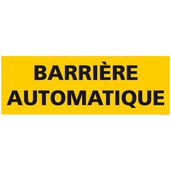 PANNEAU DE SIGNALISATION BARRIERE AUTOMATIQUE (C1271)