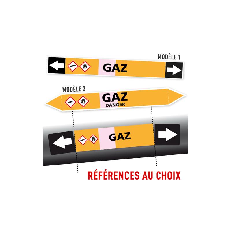 Marqueurs Tuyauterie SPECIAL GAZ
