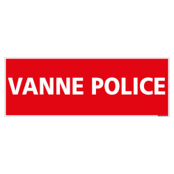 PANNEAU VANNE POLICE (K0362)
