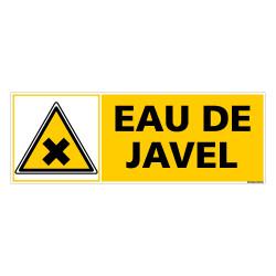 Panneau EAU DE JAVEL (C0395)