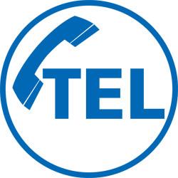 Adhésif LOGO TELEPHONE (AMB4)