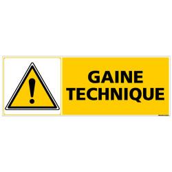 Panneau GAINE TECHNIQUE (C0401)