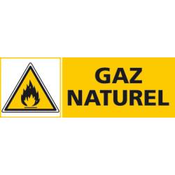 Panneau GAZ NATUREL (C0403)