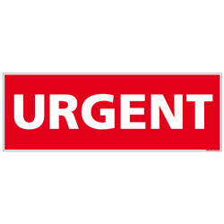 ADHESIF DE CONDITIONNEMENT URGENT (M0322)