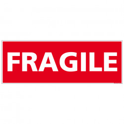 ADHESIF DE CONDITIONNEMENT FRAGILE (M0327)