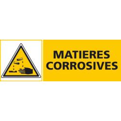 Panneau MATIERES CORROSIVES (C0417)