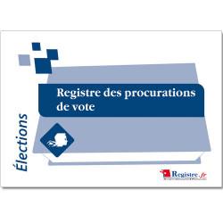 REGISTRE DES PROCURATIONS DE VOTE (RA006)
