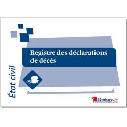 REGISTRE DES DECLARATIONS DE DECES (RA008)