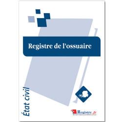 REGISTRE DE L'OSSUAIRE (RA013)