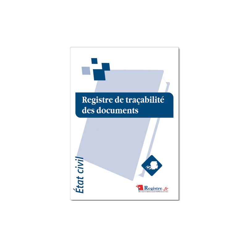 REGISTRE DE TRACABILITE DES DOCUMENTS (RA018)