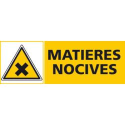 Panneau MATIERES NOCIVES (C0421)