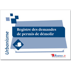 REGISTRE DEMANDES DE PERMIS DE DEMOLIR (RA026)