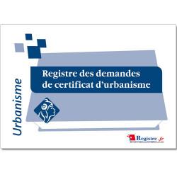 REGISTRE DES DEMANDES DE CERTIFICAT D'URBANISME (RA027)
