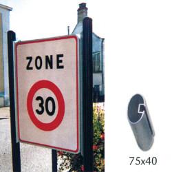 Kit panneau routier ZONE 30