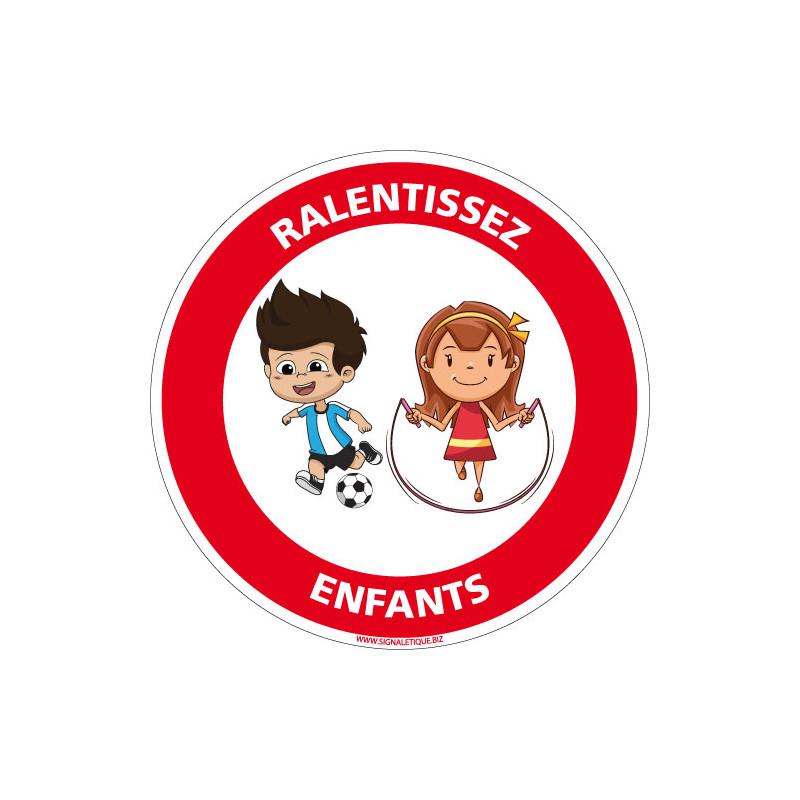 PANNEAU RALENTISSEZ ENFANTS (D1072)