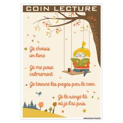PANNEAU COIN LECTURE (G1509)