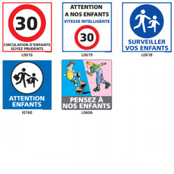Panneau ATTENTION ENFANTS