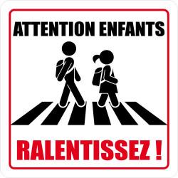 Panneau de Signalisation ATTENTION ENFANTS, RALENTISSEZ! (L0623)
