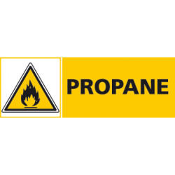 Panneau PROPANE (C0447)