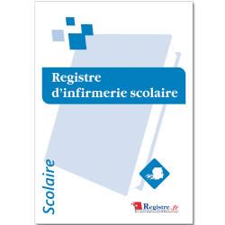 REGISTRE OBLIGATOIRE D'INFIRMERIE SCOLAIRE (RA074)