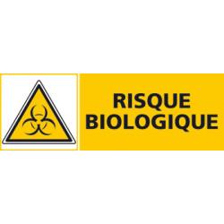 Panneau RISQUE BIOLOGIQUE (C0457)