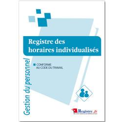 REGISTRE OBLIGATOIRE DES HORAIRES INDIVIDUALISES (RM014)