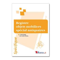 Registre objets mobiliers spécial antiquaires (RM015)