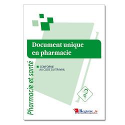 Document unique en pharmacie (RM021)
