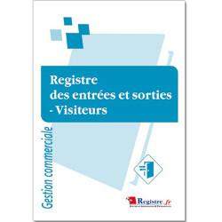REGISTRE DES ENTREES ET SORTIES - VISITEURS (RM069)