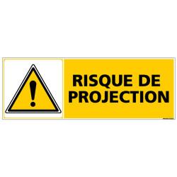 Panneau RISQUE DE PROJECTION (C0460)