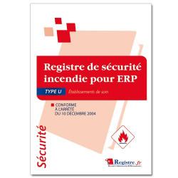Registre de sécurité incendie pour ERP type U (RP002)