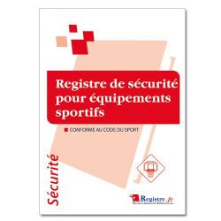 Registre de sécurité pour équipements sportifs (RP004)