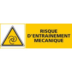 Panneau RISQUE D'ENTRAINEMENT MECANIQUE (C0461)
