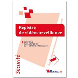 Registre de vidéosurveillance (RP023)