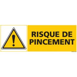 Panneau RISQUE DE PINCEMENT (C0464)